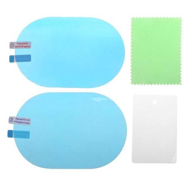 2PCS CAR REARVIEW MIRROR PROTECTIVE FILM - Wise Deals