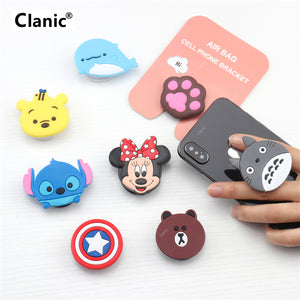 Cartoon Mobile phone grip - Wise Deals