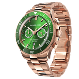 Continental 42 Rose Gold / Green