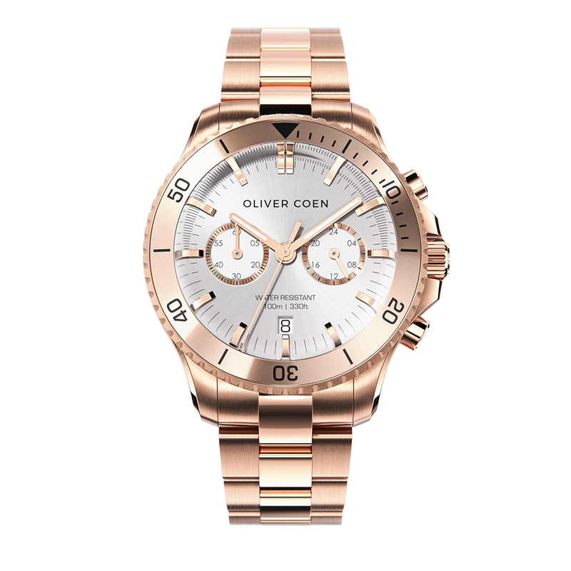 Continental 40 Rose Gold / White