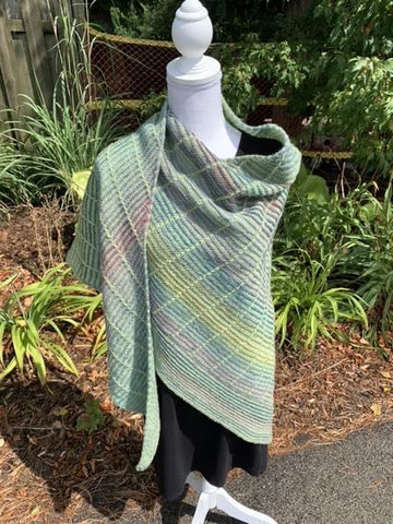 Botanic Shawl - Dyed in the Wool