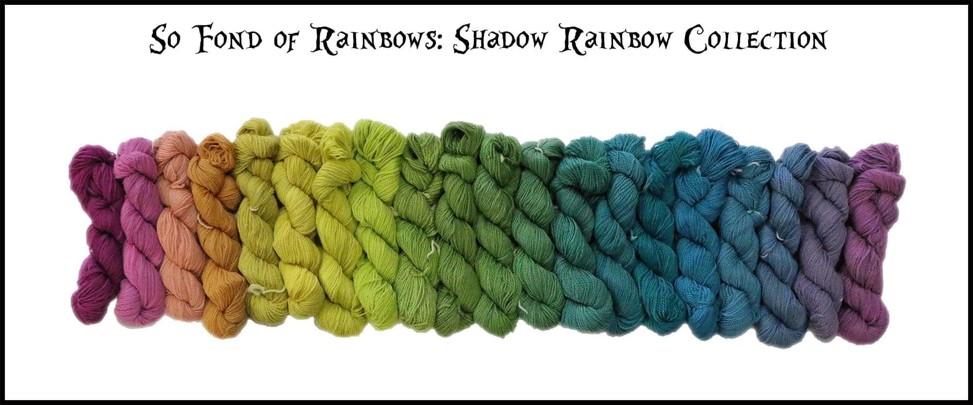 So Fond of Rainbows - March Hare Worsted