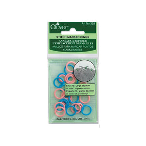 329 Stitch Marker Rings