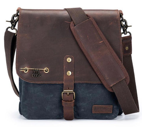 Maker's Canvas Saddlebag