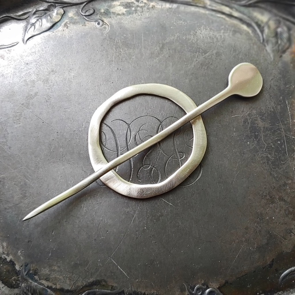 Magic Circle Shawl Pin