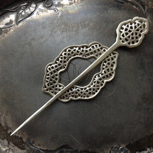 Moroccan Window Shawl Pin