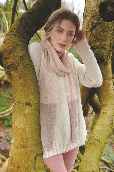 Rowan Magazine 66 - Focus Natural Fibres (Second section of Magazine 66)