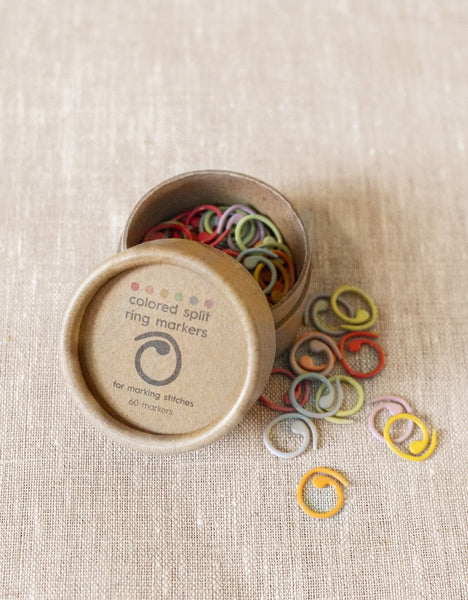 Colored Split Ring Markers