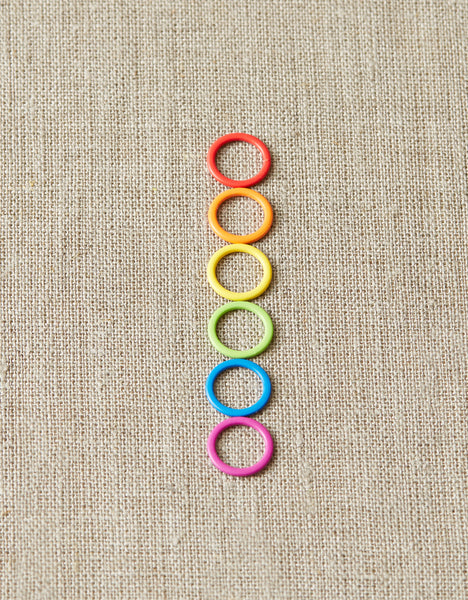 Colored Ring Stitch Markers