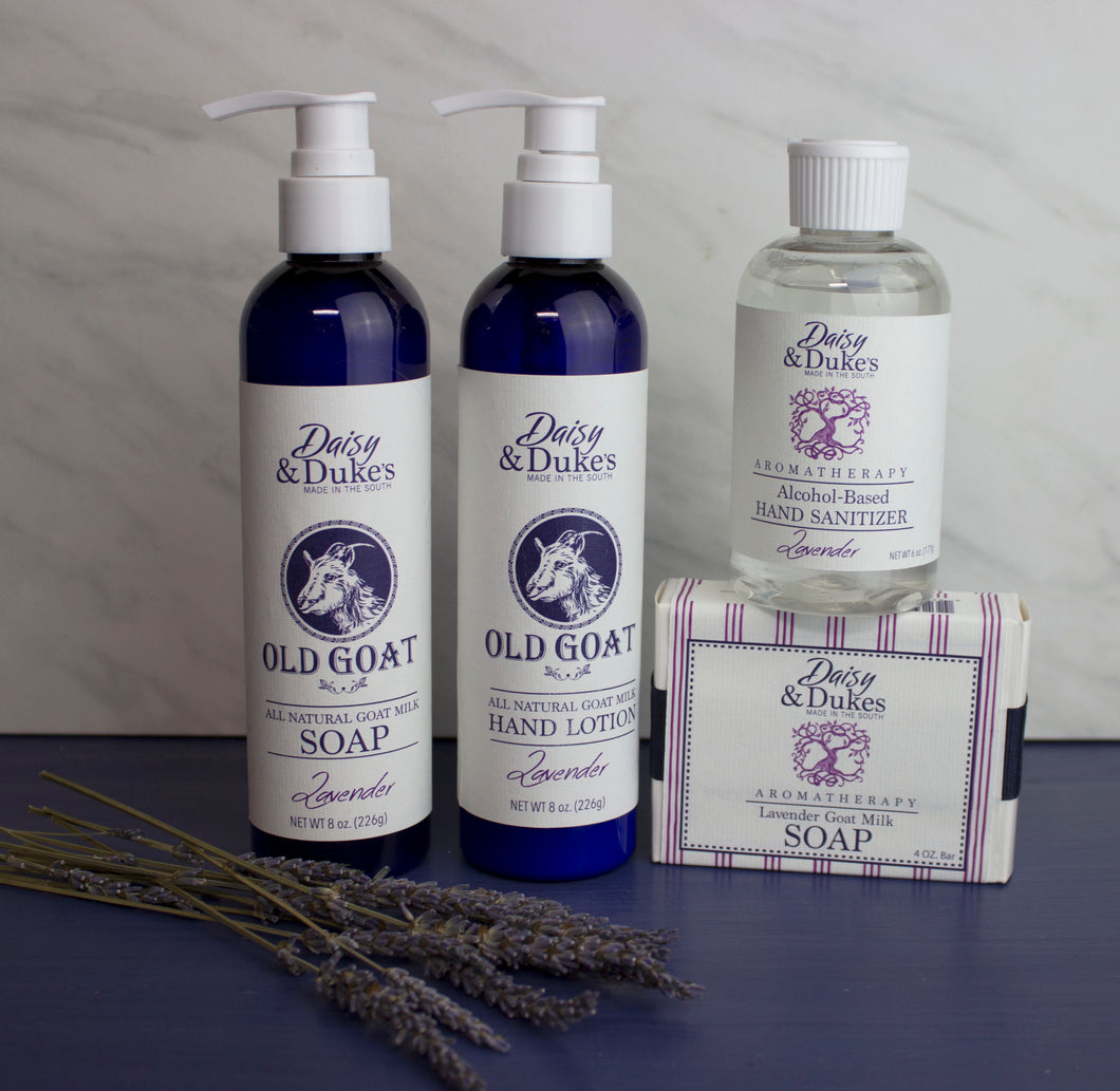 Lavender Gift Pack with hand sanitizer- Large