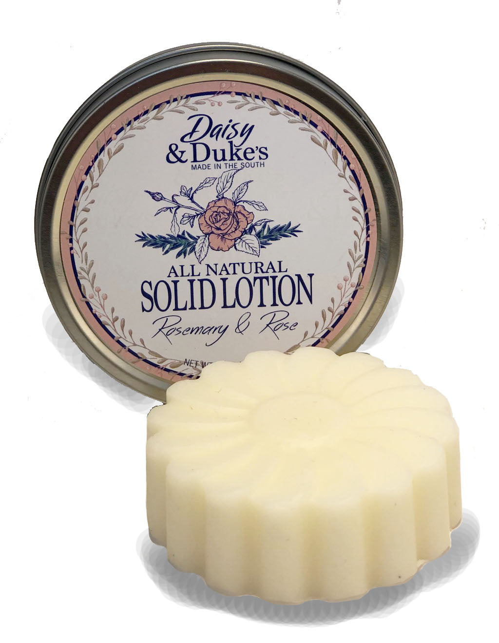 Rosemary & Rose Solid Lotion