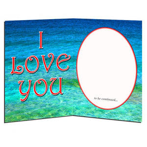 I LOVE YOU - Midnight Kiss - Greeting Card