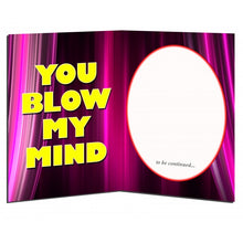 Load image into Gallery viewer, YOU BLOW MY MIND - Full Moon Sax - Greeting Card