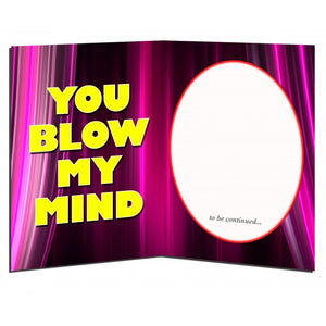 YOU BLOW MY MIND - Full Moon Sax - Greeting Card