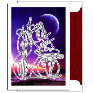 YOU THRILL ME - Blue Moon Trio - Greeting Card