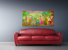 Load image into Gallery viewer, ISLAND OF JAZZ - Band - Original Painting
