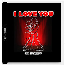 Load image into Gallery viewer, I LOVE YOU - One Line Art & Poetry - Hardcover Luxurious Book - Limited Edition /333