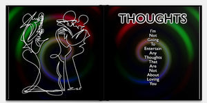 I LOVE YOU - One Line Art & Poetry - Hardcover Luxurious Book - Limited Edition /333