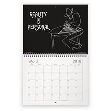 Load image into Gallery viewer, 2018 One Line Art & Flowetry Calendar - THE INNER YOU