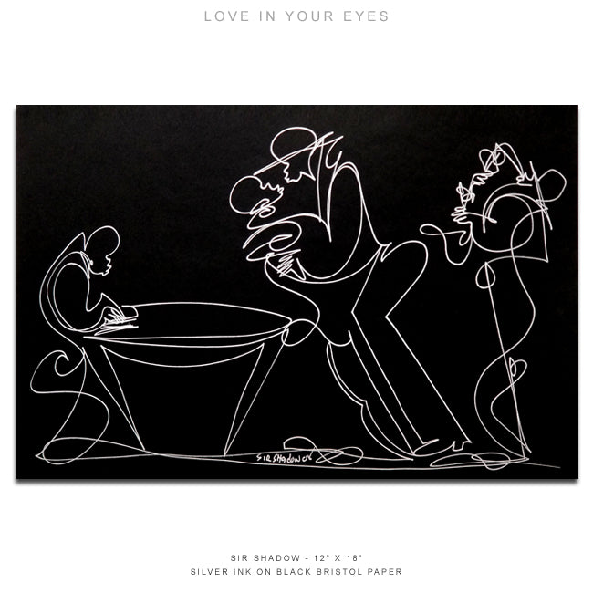 LOVE IN YOUR EYES - Lovers / Band - 12