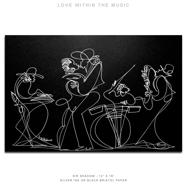 LOVE WITHIN THE MUSIC - Lovers / Band - 12
