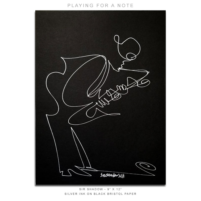 PLAYING FOR A NOTE - Saxophone - 9