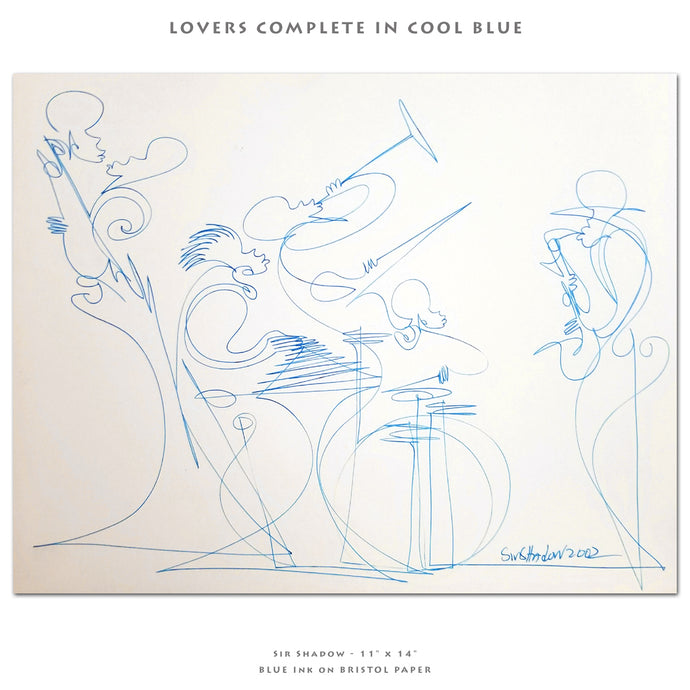 LOVERS COMPLETE IN COOL BLUE - Lovers / Band - 11