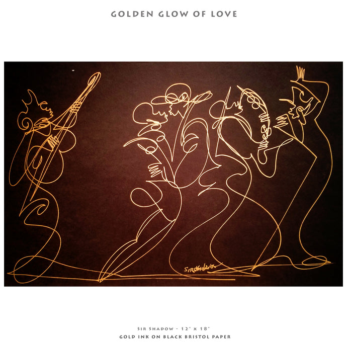 GOLDEN GLOW OF LOVE- Lovers / Band - 12