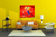 Load image into Gallery viewer, DATE NIGHT SAX - Lovers - Original Painting
