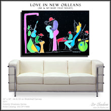 Load image into Gallery viewer, LOVE IN NEW ORLEANS - Lovers Band - Original Painting
