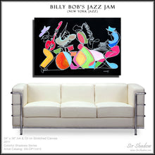 Load image into Gallery viewer, BILLY BOB'S JAZZ JAM - Jazz Band - Original Painting