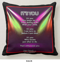 "Load image into Gallery viewer, THAT'S WHY I LOVE YOU - Double-Sided 16"" x 16"" Pillow"