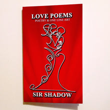 Load image into Gallery viewer, LOVE POEMS - Poetry & One Line Art - Softcover Book