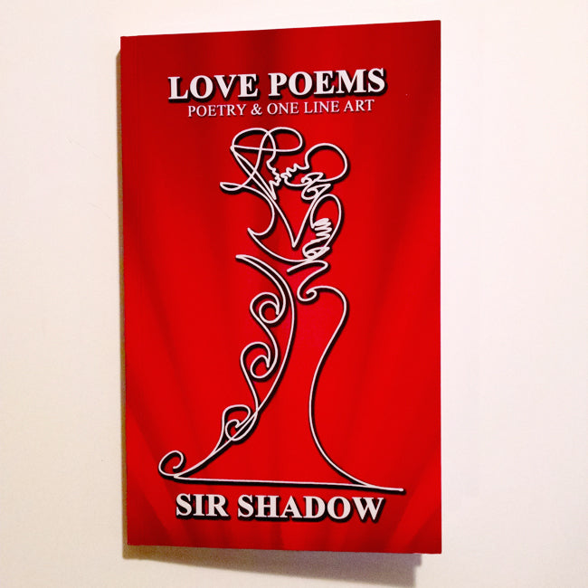 LOVE POEMS - Poetry & One Line Art - Softcover Book