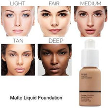 Load image into Gallery viewer, Flawless Matte Liquid Foundation