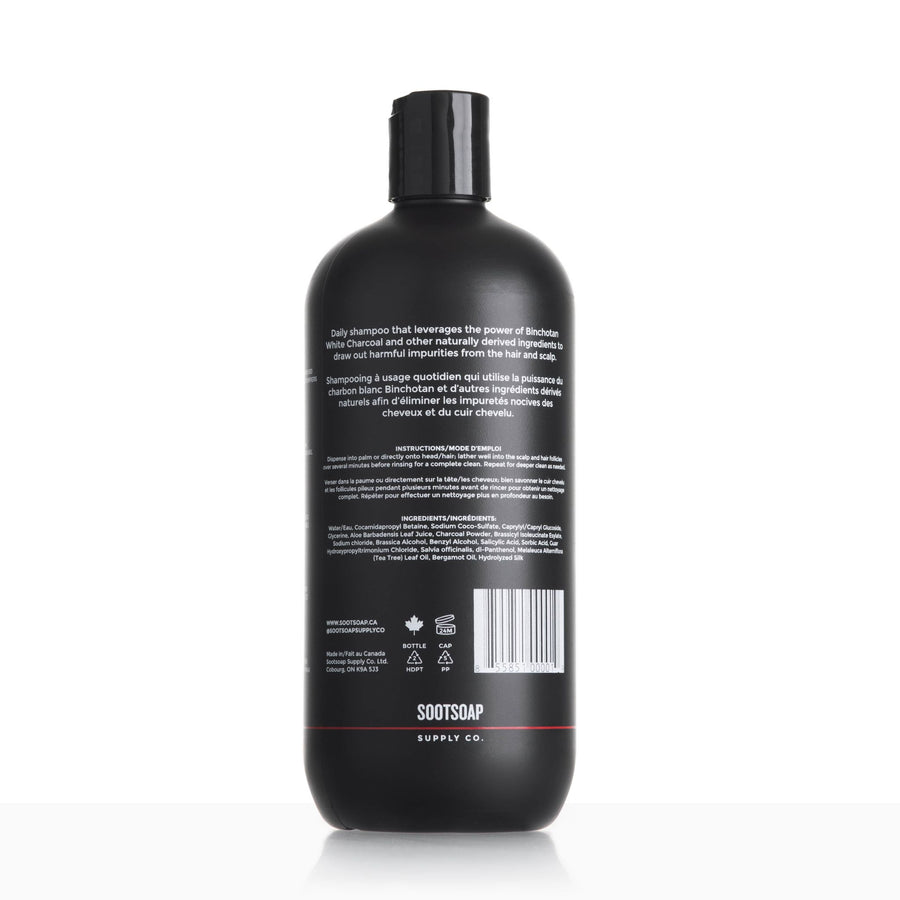 Sootsoap Shampoo - Firefighter Shampoo - Decon Charcoal Shampoo
