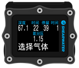 Multiple Languages Display Perdix Shearwater - Blue Holic Scuba