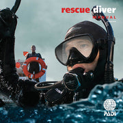 PADI Rescue Diver Manual High Definition Quality Contract Blue Holic Scuba