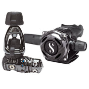 MK25 EVO/A700 CARBON BLACK TECH DIVE REGULATOR SYSTEM, INT