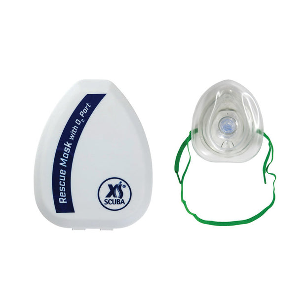 POCKET RESCUE MASK w/ O2 PORT