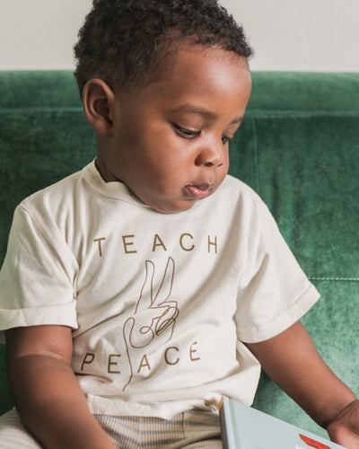 Teach Peace Kid's Tee