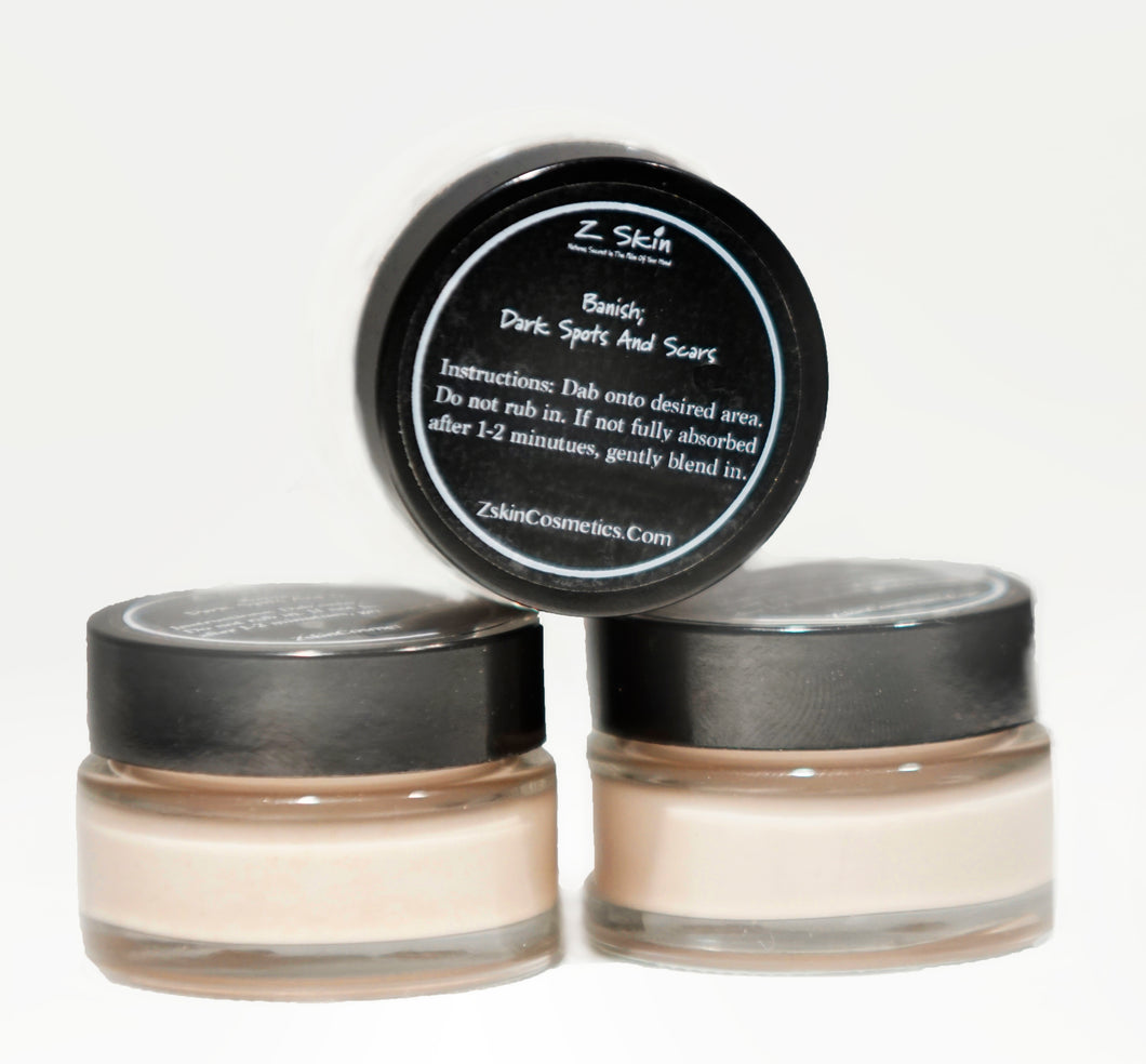 Z Skin Cosmetics Banish Dark Spots and Scars