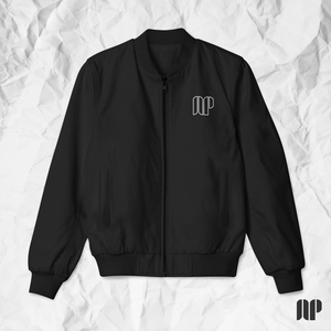 Black AP Bomber Jacket