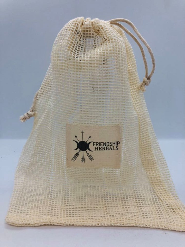 Re-Useable Mesh Bath Tea Bag
