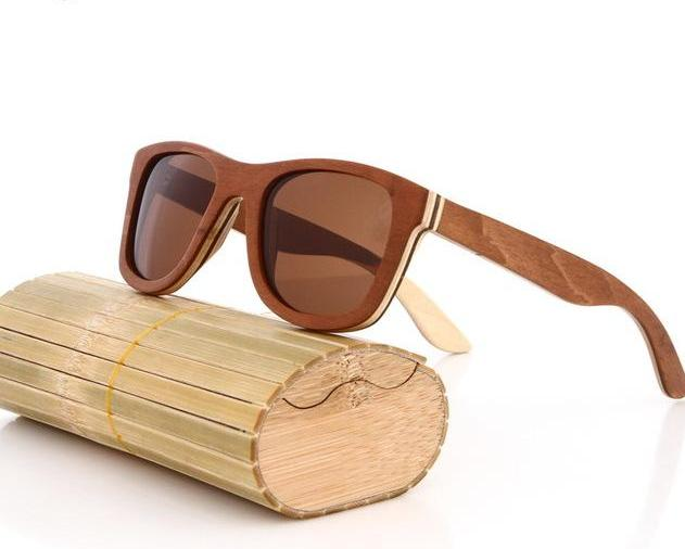 Unisex Wood sunglasses