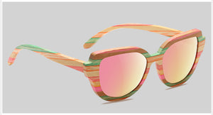 Wood and Bamboo Sunglasses