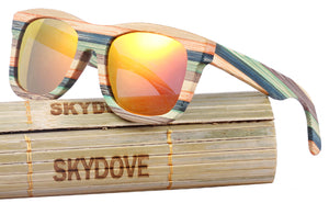 Unisex Wooden and Bamboo Sunglasses