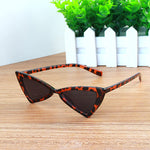 Butterfly triangle sunglasses