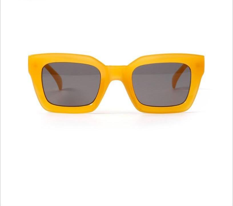 Sexy Retro Square Frame Sun Glasses