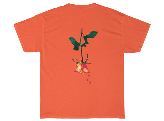 Dantevilles Bloomin Flowers Tee (Orange)
